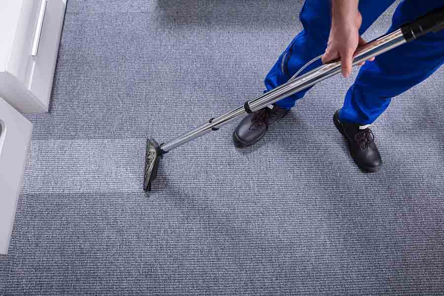 cleaner performing professional carpet clean